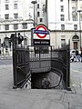 Entrance to Bank tube station - geograph.org.uk - 1758236.jpg