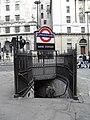 Entrance to Bank tube station - geograph.org.uk - 1758236.jpg