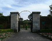 Entrance to Lumps Fort, Canoe Lake grounds, Southsea - geograph.org.uk - 71147
