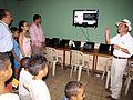 Entrega de aulas interactivas en el Proyecto educativo en Cartagena, Colombia. 2009.JPG