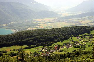 Entrevernes Commune in Auvergne-Rhône-Alpes, France