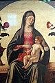 Ercole de' roberti, madonna col bambino tra due vasi di rose, 03.jpg