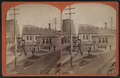 Erie Railroad yard showing locomotive, watertower, by W. L. Sutton.png