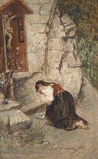 Лицом ниц в молитве
