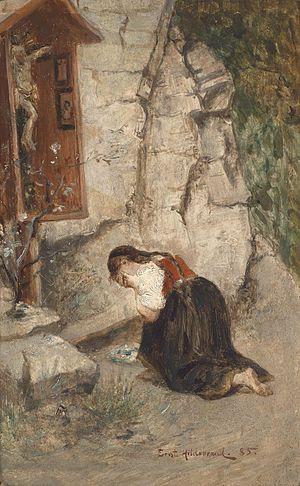Ernst Hildebrand - Despair (1885)