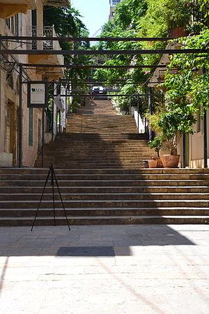 Escalier saint-nicolas beyrouth