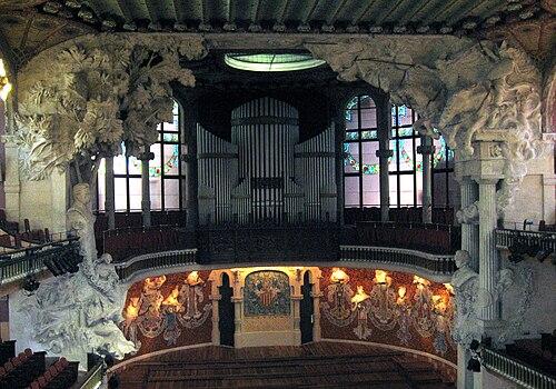 Escenario Palau de la Música Catalana