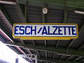 Esch-sur-Alzette station sign.jpg