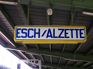 Esch-sur-Alzette railway station railway station in Luxembourg
