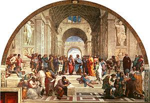 The Last Day of Pompeii - Image: Escola de Atenas