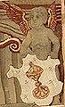 Escudo da Galiza no tapiz Légende de Notre-Dame du Sablon de Bernard van Orley (1516-1518).jpg