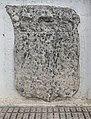 Escut de la família Almúnia, picat durant la Segona Germania. El Ràfol d'Almúnia (Marina Alta - País Valencià).jpg