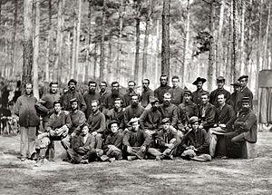 Petersburg, Virginia - U.S. Engineer Battalion, during the Siege of Petersburg, August 1864