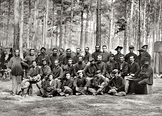 Petersburg, Virginia - U.S. Engineer Battalion, during the Siege of Petersburg, August 1864