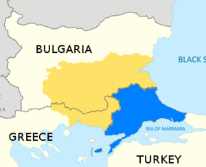 Upper Thracian Plain - Northern Thrace, the location of the Upper Thrace Plain, is the part of Thrace within Bulgaria