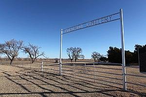Estacado, Texas - Image: Estacado Cemetery Lubbock County Texas 2010