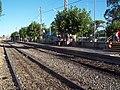 Estación Bosques - Vía auxiliar y anden bajo V.JPG