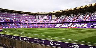 Estadio José Zorrilla football stadium in Spain