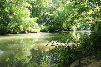 Euharlee Creek - Euharlee Creek near Euharlee