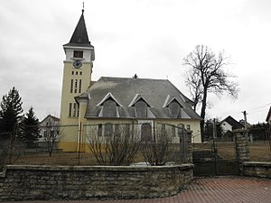 Church (building) - Evangelical (Lutheran) church in Štrba (Slovakia) - a typical village church in Europe.