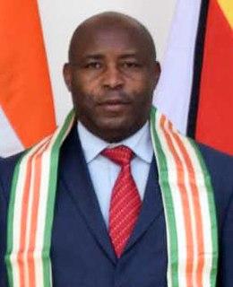 Évariste Ndayishimiye Burundian politician