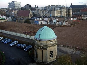 Radcliffe Observatory Quarter - Image: Excavations behind the Radcliffe Infirmary geograph.org.uk 1571670