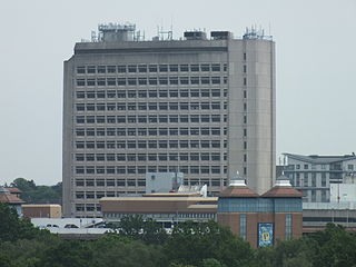 Export House office building, tallest building in Woking, UK