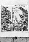exterieur naar tekening van klotz 1677 ( verzameling bodel nijenhuis) - aardenburg - 20003704 - rce