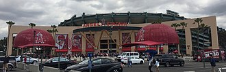 Angel Stadium - Angel Stadium of Anaheim's exterior