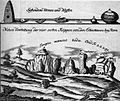 Externsteine Kupferstich von F.H. Frisch (1750).jpg