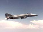 F-4J(UK) Phantom of 74 Squadron in flight 1984.jpg