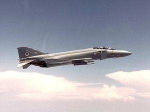 No. 74 Squadron RAF - A 74 Squadron F-4J(UK), in 1984.