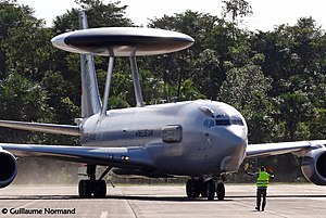 Boeing E-3 Sentry - A French Air Force E-3F in 2014