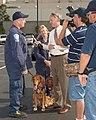 FEMA - 37869 - FEMA US&R Florida TF-1 member speaking with a reporter in Georgia.jpg