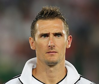FIFA World Cup - Miroslav Klose scored a record 16 goals across four World Cups