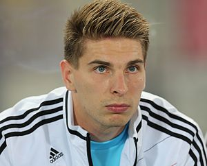 FIFA WC-qualification 2014 - Austria vs. Germany 2012-09-11 - Ron-Robert Zieler 01.JPG