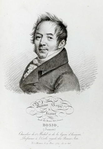 François Joseph Bosio - Portrait of Bosio by Julien-Léopold Boilly
