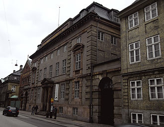 Medical Museion (Copenhagen) - The building on Bredgade