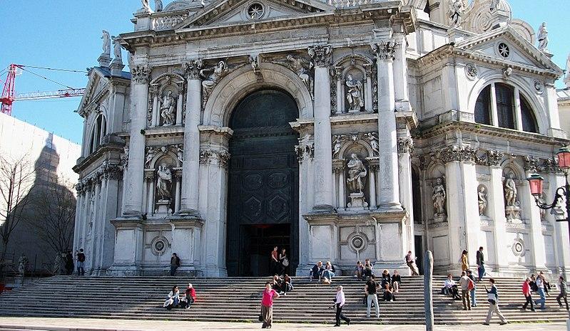 File:Façana de la basílica de Santa Maria della Salute, Venècia.JPG