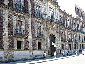 Museo Nacional de las Culturas - Facade of the museum/mint building