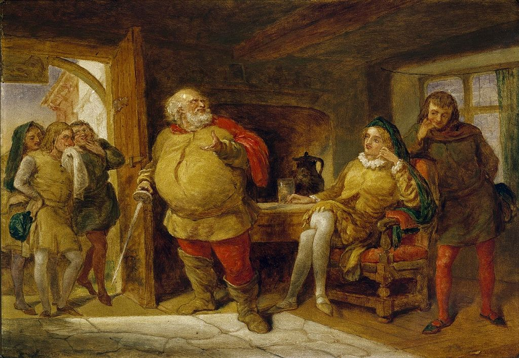 hal and falstaff Relates to virtuous behavior: he works on redeeming his own image by striving to  achieve honor through his behavior unlike both hotspur and hal, falstaff has a.