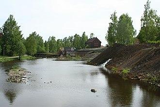 Falu River - Image: Faluån norr om Södra Mariegatan