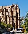 Famagusta - Gazimagusa Lala-Mustafa-Pasha-Moschee (Nikolauskathedrale) Chor 1.jpg
