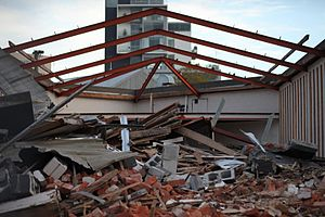 February 2011 Christchurch earthquake. Probabl...