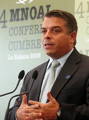 Felipe Pérez Roque - Image: Felipe Pérez Roque (Havanna, Sep 2006)