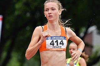 Femke Bol Dutch athlete