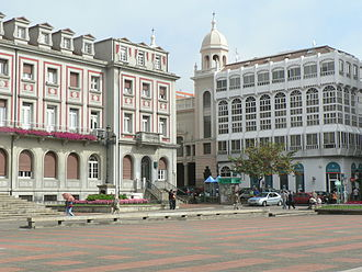 Ferrol, Galicia - The centre of Ferrol