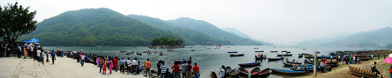Fewa Lake on New Year - Flickr - thapa.laxman.jpg