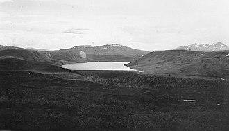 Fielding Lake - Survey photograph circa 1910
