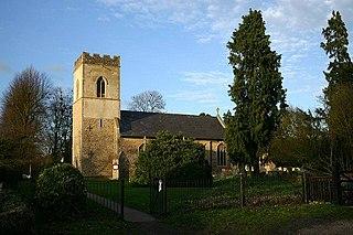 Finningham village in the United Kingdom